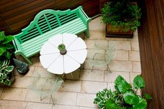 Small spaces outside - Pequenos espaços lá fora - by http://home-styling.blogspot.pt