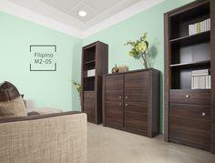 Los tonos en verde claro son una gran opción para combinar con muebles en colores oscuros.