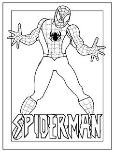 Spider Man Coloring Sheets For Kids Print And Color Our Free Spiderman Pages