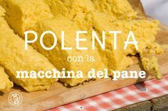 salt for each 1 l water Polenta, Plum Cake, No Cook Meals, Cornbread, Italian Recipes, Cooking Tips, Banana Bread, Food And Drink, Favorite Recipes