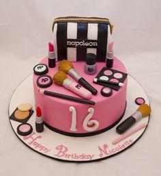 Makeup cake   Flickr - Photo Sharing!
