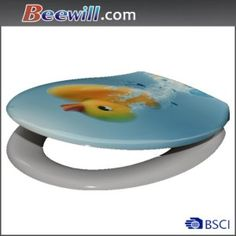 Quick Release Toilet Seat with Decorative on Made-in-China.com