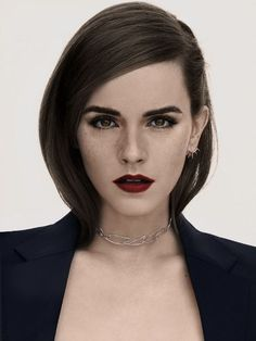 Emma Watson is the living proof that beauty, far from being shallow, is an art .