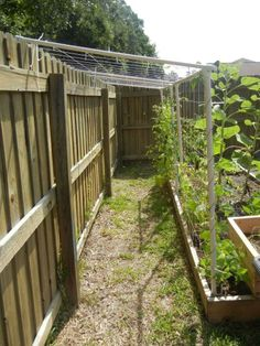 nice shade and accessibility  pvc trellis