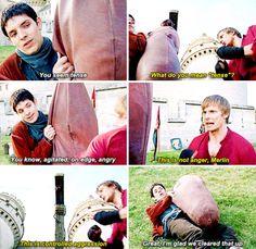 Merlin & Arthur xD
