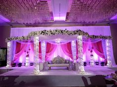 Weddings by Farah #weddingsbyfarah #wbf #indianwedding #pinkwedding #mandap