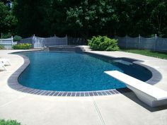 pool coping with grey concrete - Google Search