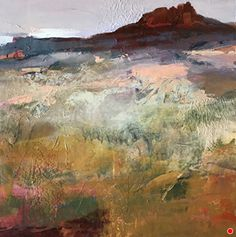 Sedona Speaking-Abstract Landscape by Joan Fullerton Acrylic ~ 20 quot; x 20 quot; Contemporary Abstract Art, Contemporary Landscape, Landscape Design, Modern Art, Contemporary Sofa, Vintage Landscape, Contemporary Building, Contemporary Apartment, Contemporary Wallpaper