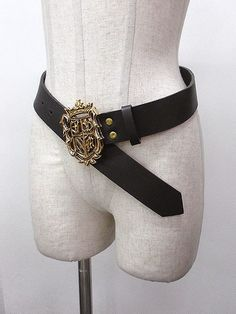 Jane Marple emblem belt