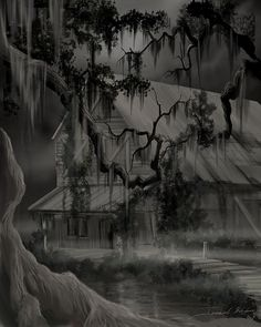 Legend of the Old House In the Swamp