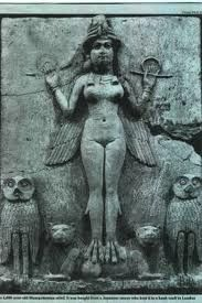 THE GODDESS IS INANNA (GODDESS OF FERTILITY) SHE IS MENTIONED IN THE BIBLE (GENESIS AND EXODUS) LIVING IN THE CITY OF UR THAT HAS NOW BEEN EXCAVATED. HER TEMPLE IS A SUMERIAN ZIGGURAT. THE SUMERIANS GODDESSES INANNA IS ALSO THE EGYPTIAN GODDESS ISHTAR. THESE ARE PICTURES OF THE TEMPLE OF UR