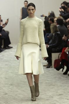 Paris Fashion Week: Céline Fall 2013 / Photo by Anthea Simms
