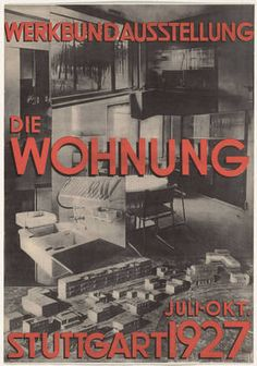 Karl Ludwig Straub (German, 1900–1997) Werkbund Ausstellung, Die Wohnung 1927. Offset lithograph. 59.4 x 42.2 cm). MoMA Deutsche Werkbund, helped position Germany at the forefront of the development of the rational kitchen. An international exhibition organized under its auspices in 1927 took the form of a modern housing estate, exemplifying an admiration for scientific rationale and efficiency. Architects collaborated with home-economics expert Erna Meyer on the design of many of the…