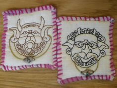 omg the door knockers!!! i so want to collect laberinth teesha moore patches! totally want these!!!!! i'll have to remember!