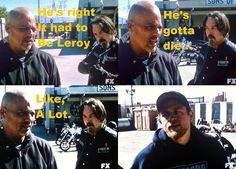 Happy // Chibs // Jax // Sons Of Anarchy