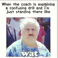 Field Hockey probs. HAHAHAHA SO Going to be Me when I get to see a game of hers Soon :) #soccermemes