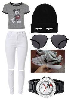 """""""Untitled #404"""" by kyrapples on Polyvore featuring Topshop, The Row and Disney"""