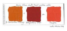 Barcelona Orange Color Palette as seen on this antique door. Annie Sloan Painted Furniture, Chalk Paint Furniture, Annie Sloan Chalk Paint, Lowes Chalk Paint Colors, Orange Color Palettes, Colour Shades, Orange Door, Bistro Chairs, French Bistro