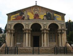 Garden of Gethsemane - Church of the Agony (Church of All Nations) | Flickr - Photo Sharing!