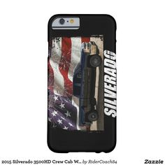 2015 Silverado 3500HD Crew Cab W/T Dually Barely There iPhone 6 Case