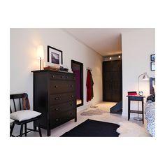 HEMNES 6-drawer chest - black-brown - IKEA x 2 @ $179 ea