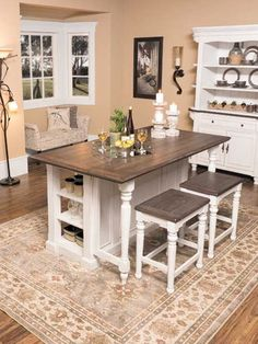 The Bourbon County French Country Dining Collection by Sunny Designs offers the very best representation of the classic design and style of rural France. It offers a wide variety of pieces to accommodate any lifestyle. With so many pieces in the collection, you are sure to create a look that is uniquely yours.