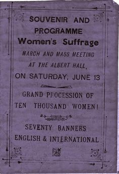 artists suffrage league - Google Search
