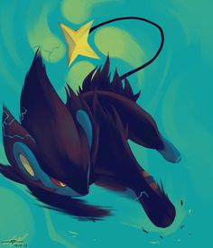 Day4 [ELECTRIC] Luxray by Rock-Bomber on deviantART