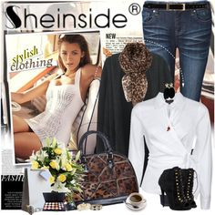 """""""SHEINSIDE.com - Stylish clothing for you"""" by anita-n on Polyvore"""