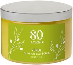 80 Acres Verde Salt Scrub  18 oz ** Read more reviews of the product by visiting the link on the image.