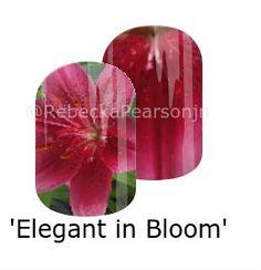 #nas #nailart #jamberry #lilies #maroon #momgarden #garden #floral #mixedmani #rebeckapersonjn #petal #flower