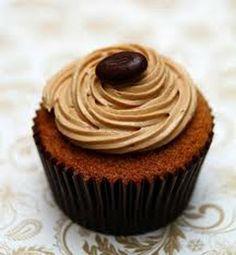 Café, sonhos e pensamentos: Cupcake de Café