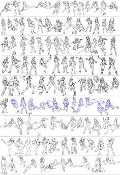 Gesture studies: 92