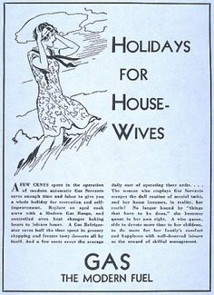 Holiday For Housewives Gas Ad