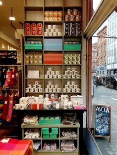 'Shop like you mean it.' Lovely stuff in Avoca Suffolk Street, Dublin.
