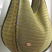 """"""" Оникс """" вязаная сумка - купить или заказать в интернет-магазине на Ярмарке Мастеров   Вязаная сумка- мешок в стиле хиппи-шик для…"""