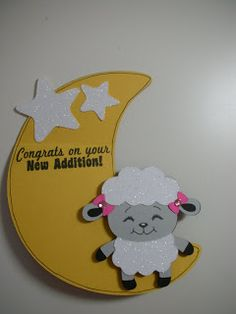 Hi Paper Lovers. I did something a little different with this shape card in case you do not have the Gypsy or Design Studio. Cricut Cuttlebug, Cricut Cards, Send A Card, I Card, Sheep Cards, Fun Crafts, Paper Crafts, Create A Critter, Baby Lamb