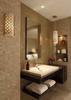 Rothbloom Residence - contemporary - bathroom - atlanta - Rabaut Design Associates, Inc.