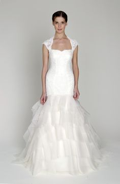 Monique Lhuillier Bliss 2013 Collection- I tried this one on today, its a new favorite