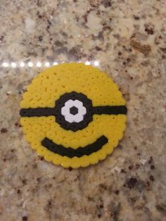 Minion hama beads