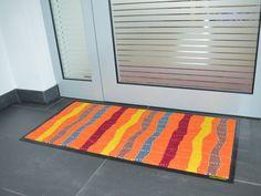 Fußmatte mit afrikanischem Design.