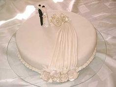 Bolo de Casamento Simples e Pequeno: Fotos e Modelos