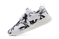 brand new 572e2 03ef5 Nike London Olympic Roshe Run Womens Palm Trees Coal Black Summit White  511882 118 Black Nikes