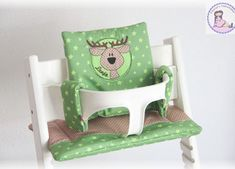 Tripp Trapp Kissen Set - muriels-nähatelier Baby Set, Stool, Chair, Furniture, Home Decor, Moose, Special Gifts, Baby Favors, Pillows