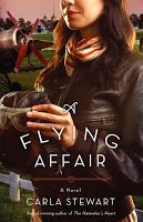 GIVEAWAY! A FLYING AFFAIR by Carla Stewart, comment on blog to enter giveaway.