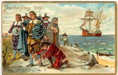 Vintage Thanksgiving Postcard | Flickr - Photo Sharing!
