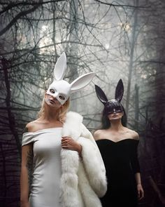 "Martina Satoriova on Instagram: ""Who's ready for Halloween 🎃? We're the Murder bunnies. Stay tuned for our Halloween video launching tomorrow 👻 Photo:…"" Halloween Gif, Sad Eyes, Gothic Beauty, Stay Tuned, Bunnies, Product Launch, Instagram, Goth Beauty, Rabbit"
