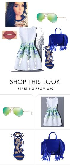 """""""Just for the shades"""" by trendsetter-789 on Polyvore featuring Ray-Ban, WithChic, Steve Madden, Paula Cademartori and Smashbox"""