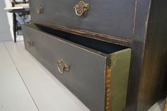 Low Level Vintage Chest of Drawers artwork