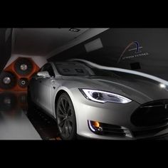 Race car driver @LeilaniMunter took her Model S to the wind tunnel and found that it has a lower drag coefficient than her race car! #Tesla #Cars #drive #instafollow #FF